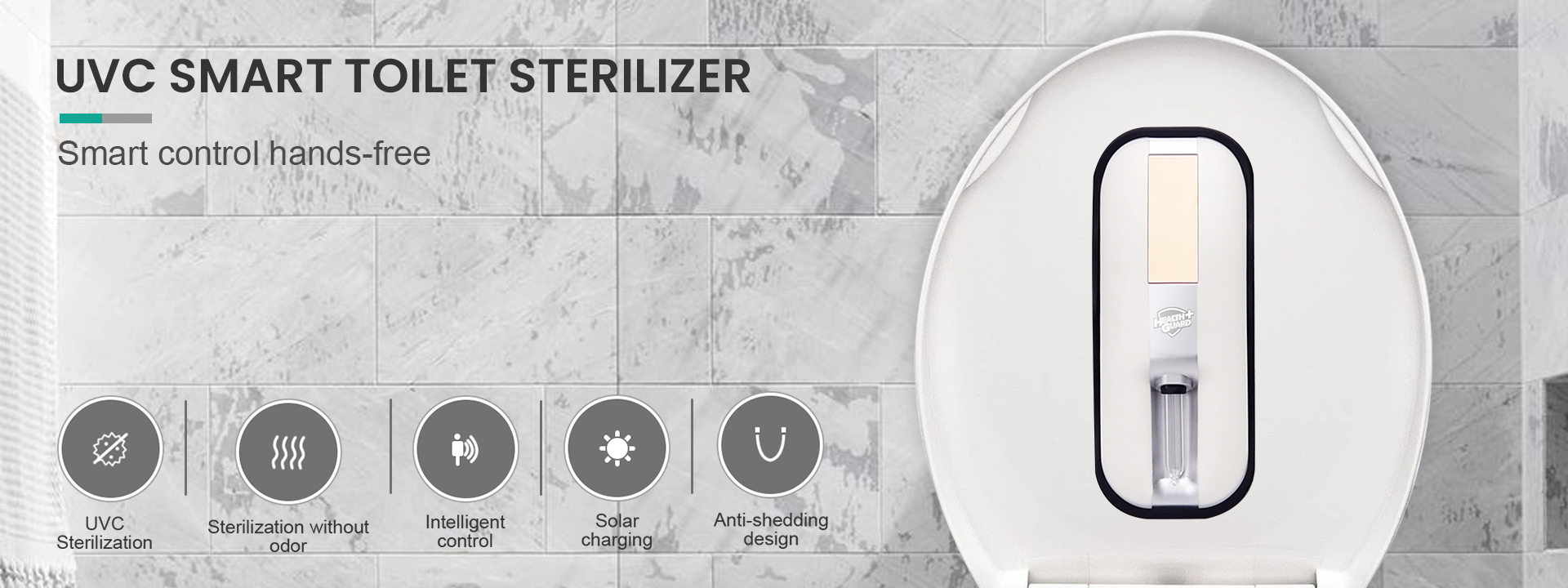 Banner uvc-smart_ toilet sterilizer